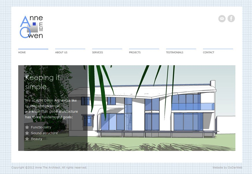 Anne the architect home page
