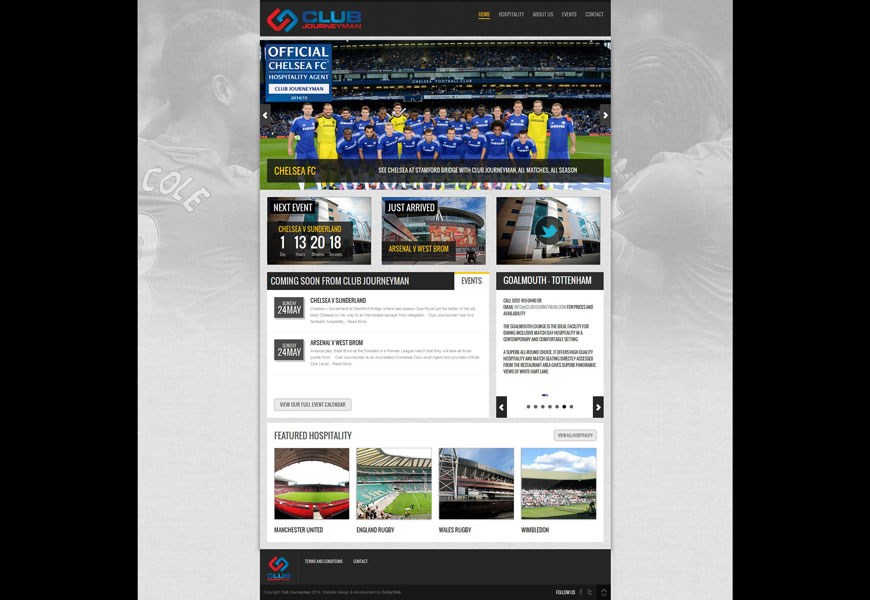 Club Journeyman home page